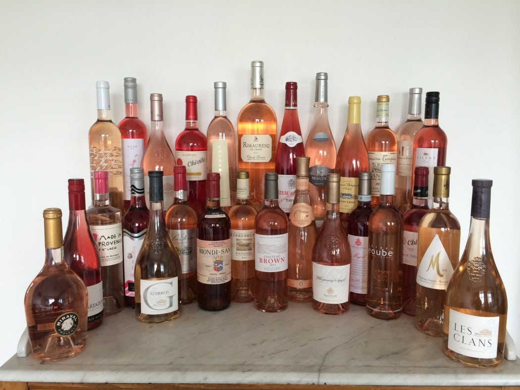 1404 Rosé lineup