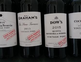 Symington Family Estates' Vintage Port 2015: Dow's, Vesuvio, Cockburn's & Graham's