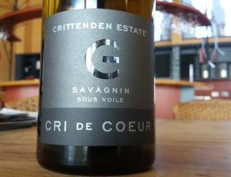 Crittenden Estate 2013 Cri de Coeur Savagnin 2013, Best White Wine of Show