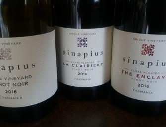 Tasmania: beguiling Sinapius Pinot Noir, Gamay, Chardonnay, plus a unique white field blend