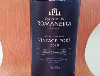 First taste: Quinta da Romaneira Vintage Port 2018