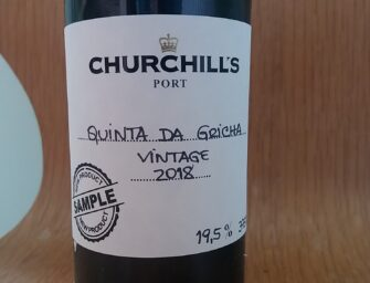 First taste: Churchill's Quinta da Gricha 2018 Vintage Port