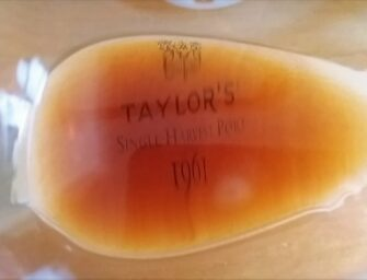 First taste: Taylor's Single Harvest Port 1961