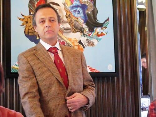 The current custodian of Barca Velha, Chief Winemaker Luis Sottomayor