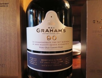 Breaking with tradition for Queen & country: Graham's 90 Very Old Tawny Port