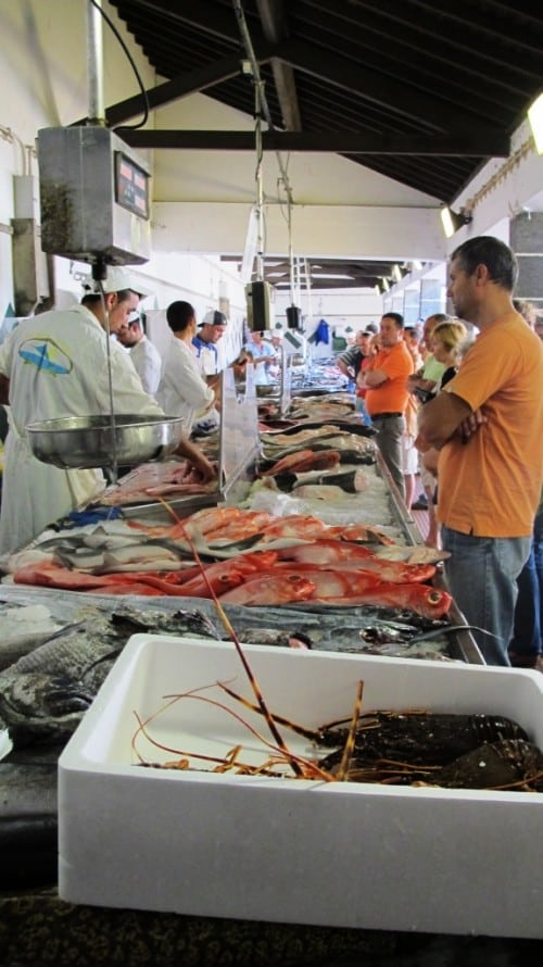 The market. São Miguel - the Azores is renowned for its deep sea fishing