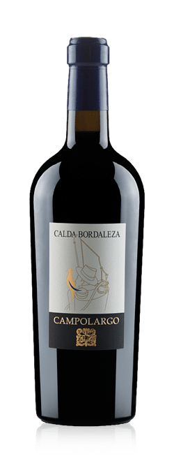 Camplolargo's label gives away the varieties - Cabernet Sauvignon, Merlot & Petit Verdot