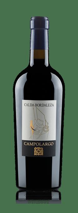 Camplolargo's label gives away the varieties - Cabernet Sauvignon, Merlot & Petit Verdot