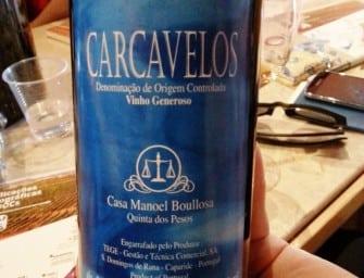 A rare treat: Casa Manuel Boullosa Quinta dos Pesos Carcavelos 1991
