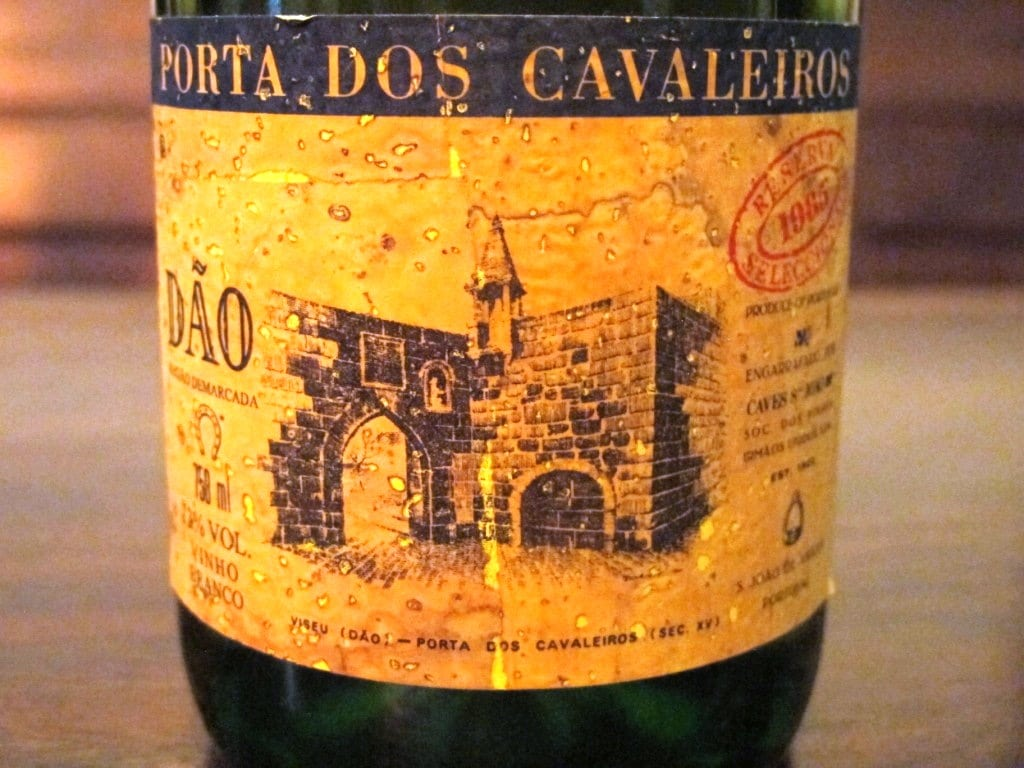 Caves São João pioneered the use of natural cork labels