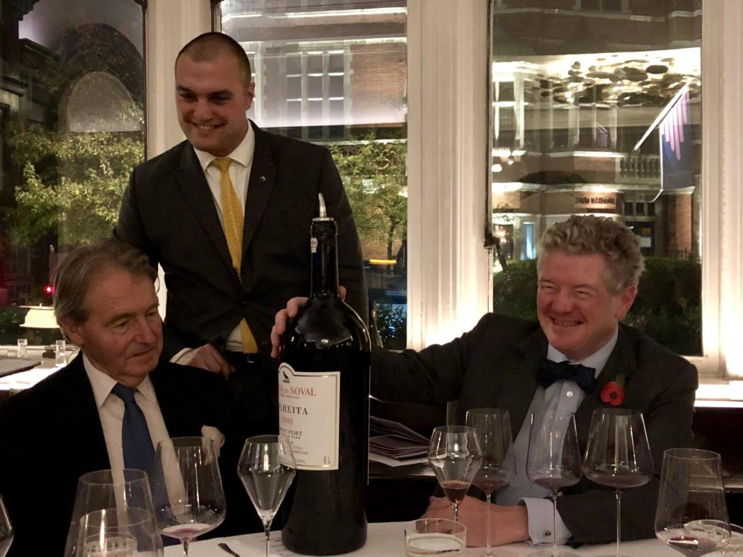 Colheita 2003 Jeroboam at The Connaught (1)