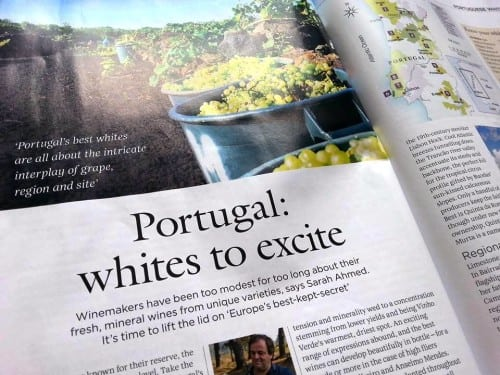 Decanter article Portuguese whites to excite