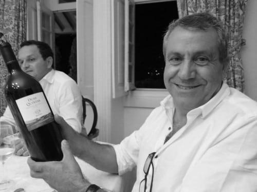 Partner in crime, Chief Viticulturist Carlos Peixoto