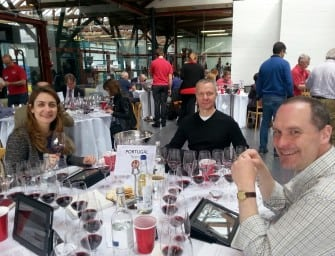 A glimpse into Decanter World Wine Awards:  team Portugal