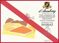 Highlights: d'Arenberg Amazing Sites' Shiraz 2010