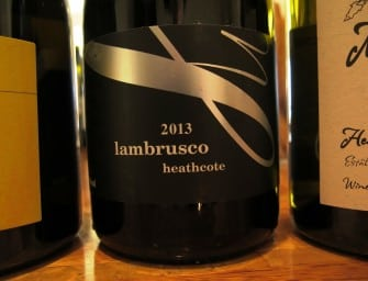 An Australian Lambrusco from Chalmers