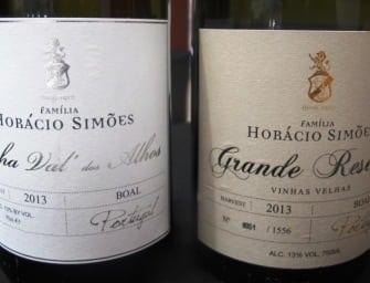 Horácio Simões: century old Boal Palmela white wine