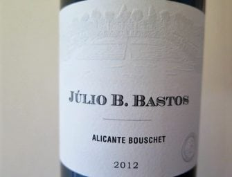 Júlio Bastos: red hot single varietal Petit Verdot & Alicante Bouschet