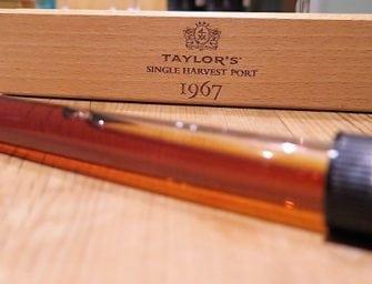 First taste: Taylor's 1967 Single Harvest Tawny Port