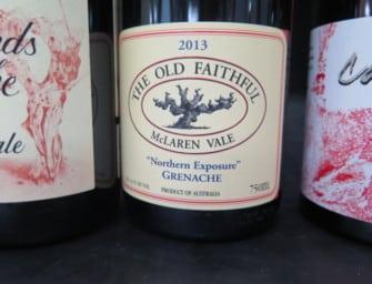 Serafino Reserve Grenache 2014 & The Old Faithful Northern Exposure Grenache 2013