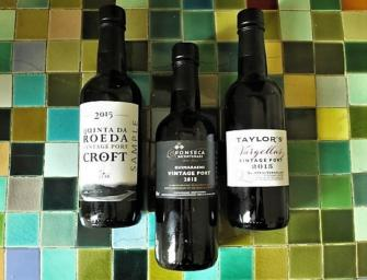 The Fladgate Partnership 2015 Vintage Ports from Croft, Fonseca & Taylor's