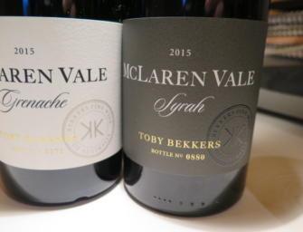 February Wines of the Month: La Violetta Bilingüe GSM 2015 & Bekkers Syrah 2015