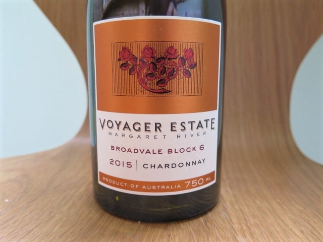 Voyager Estate Broadvale Block 6 Chardonnay 2015