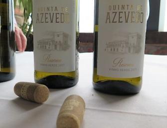 Vinho Verde, first taste: Azevedo newbies & Casa das Hortas