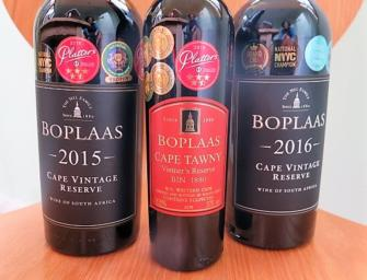 Off piste: Boplaas Cape Vintage Reserve 2015 & 2016 and Cape Tawny  Vintner's Reserve