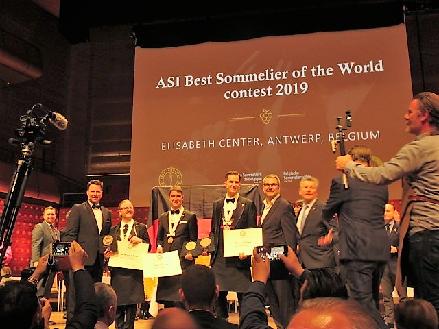 ASI Best Sommelier of the World 2019