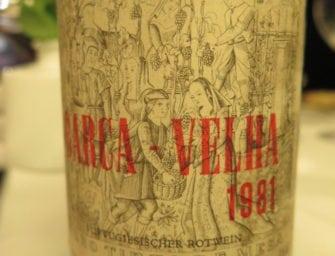 First taste: Barca Velha 1981
