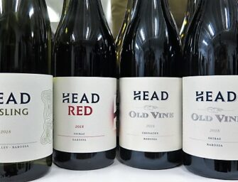 Heads up:  over here, Head Wines – beautiful Barossa