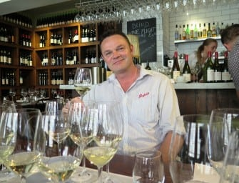 All white now for IWC White Winemaker of the Year, Penfold's Kym Schroeter