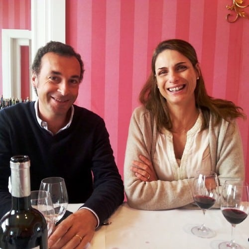 Jorge Serodio Borges & Sandra Tavares, makers of one of the Douro's very best white wines, Wine & Soul Guru