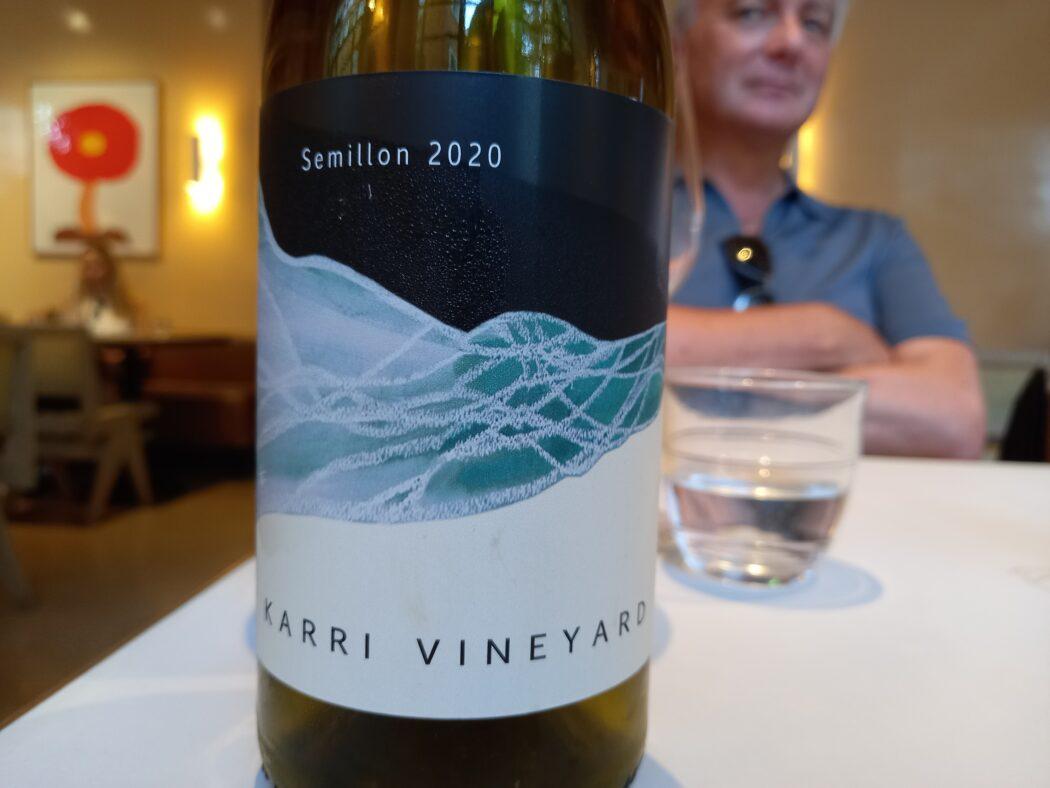 karri vineyard semillon 2020