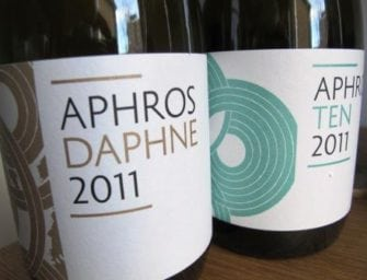 Aphros, the artisanal wine formerly known as Afros: latest thrilling releases