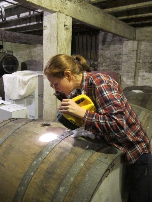 In search of flor - Apera queen Jen Pfeiffer, Pfeiffer Wines