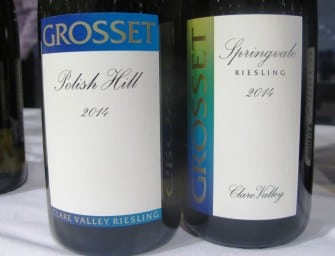 First taste: Grosset 2014 Clare Valley Rieslings