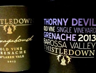First taste: Thistledown The Vagabond & Thorny Devil Grenache 2013
