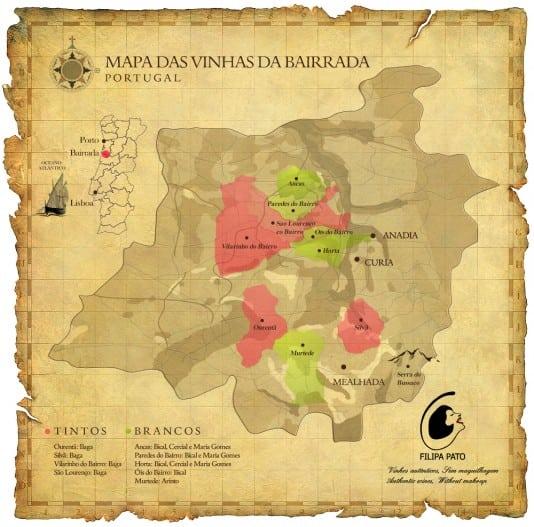 Map courtesy of Filipa Pato
