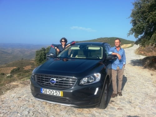 Me & Luis Sottomayor Douro Road Trip Credit Sarah Ahmed