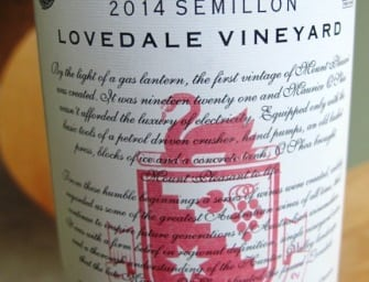 Mount Pleasant 1946 Vines Lovedale Vineyard Semillon 2014