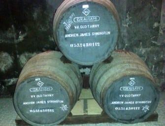 Retro-Friday: Graham's Ne Oublie Very Old Tawny Port