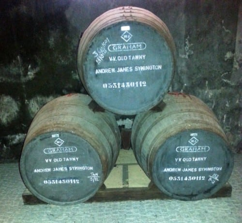 Graham's Ne Oublie comes from one of these three casks