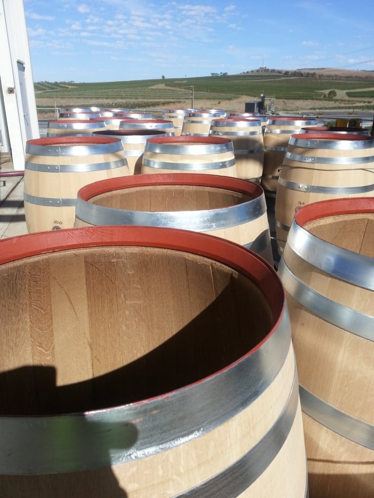 new Fine Grain American ready to receive fruit ex destemming