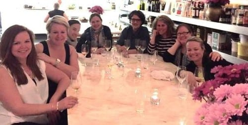 Tenille Chalmers, Kym Chalmers, Brioni Oliver, Briony Hoare, yours truly, Sue Bell, Jane Faulkner, Corrina Wright