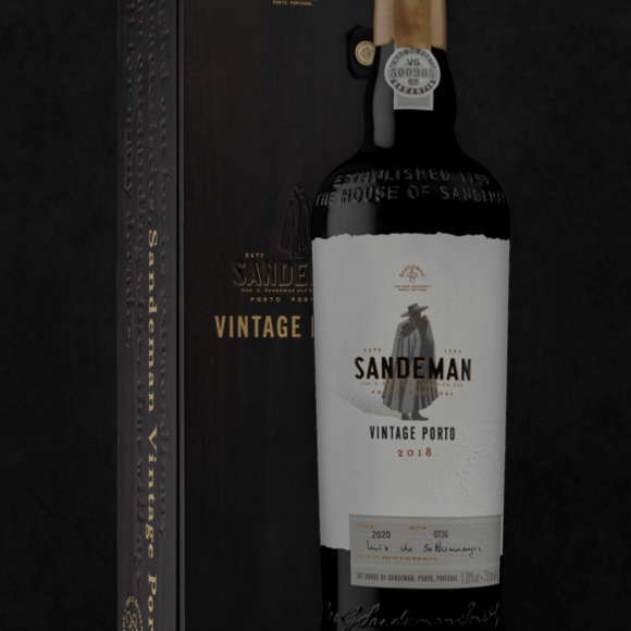 Sandeman Vintage Port 2018, photo credit Sandeman