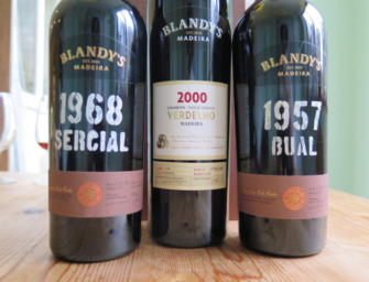 Madeira: latest dated releases from Blandy's & Leacock's