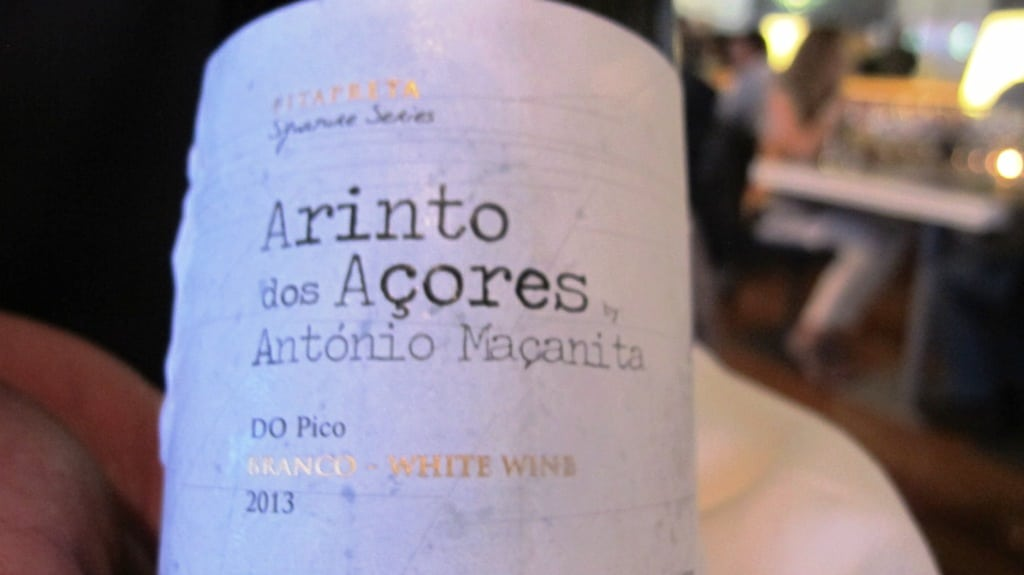An thirllingly taut addition to the Azore's developing wine scene from Antonio Macanita of Fita Preta - brilliant with Costa's cracas and second course of greater amberjack, marinated tartar, mussel and salicornia