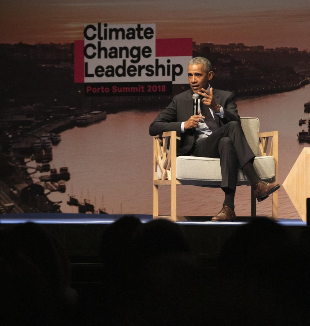 Porto Summit 2018 Barack Obama